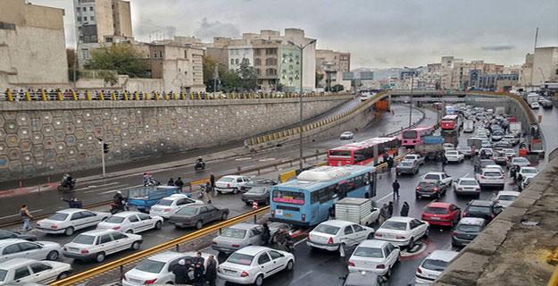 ترافیک ایجاد شده بر اثر اختشاش