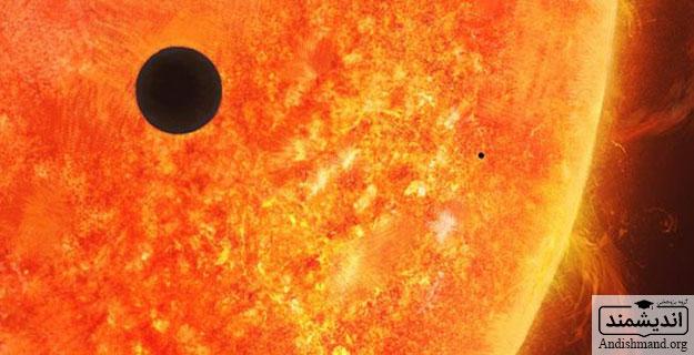 عبور عطارد از مقابل خورشید