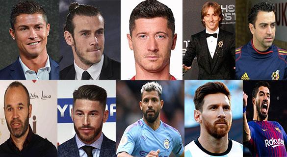 برترین های فوتبال - ده بازیکن برتر فوتبال جهان در دهه ای که گذشت