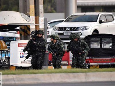 تیراندازی در خیابان – افسر تایلندی مردم را در خیابان به گلوله بست