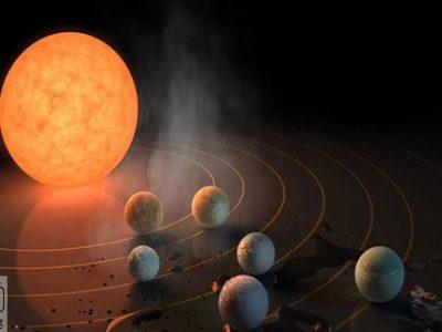 سیاره جدید - کشف یک سیاره جدید و بسیار جوان در نزدیکی زمین