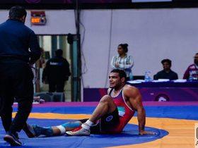 قهرمانی آسیا - فرنگی کار دوپینگی روی تشک قهرمانی آسیا
