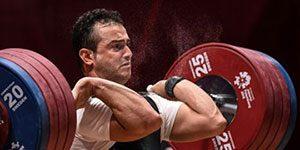 سهراب مرادی - مدال طلای وزنه برداری غرب آسیا در دستان سهراب