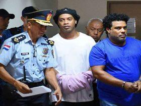 رونالدنیو در زندان - قرار وثیقه مورد قبول نبود،رونالدینیو در زندان خواهد ماند
