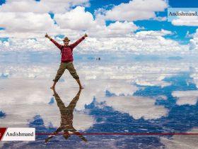دریاچه نمک بولیوی - بزرگترین آیینه طبیعی جهان