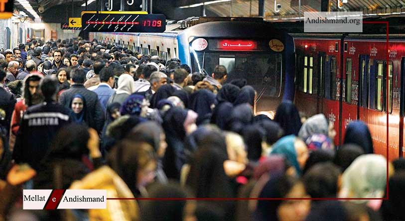 ماسک اجباری - اجرای طرح استفاده اجباری از ماسک در مترو و اتوبوس