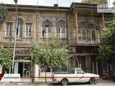 عمارت گلستانه - خروج این عمارت از لیست آثار ملی با هدف تخریب و تجاری سازی