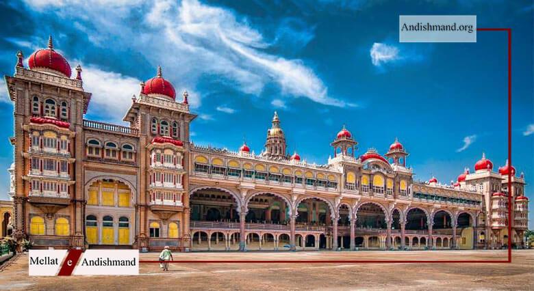کاخ میسور - دومین بنای پربازدید در کشور هندوستان