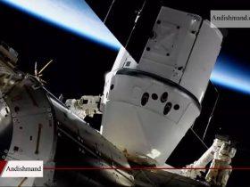 اتصال به ایستگاه فضایی - کرو دراگون با موفقیت به ایستگاه فضایی متصل شد