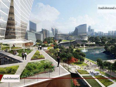 ساخت یک شهر جدید فناورانه در کشور چین