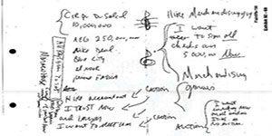 دفترچه خاطرات - کشف دفترچه خاطرات مایکل جکسون