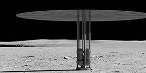 نیروگاه اتمی - ساخت نیروگاه اتمی در ماه و مریخ