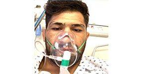 حسین نوری - ملی پوش کشتی پنجه در پنجه کرونا