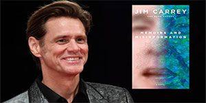 کتاب جیم کری - کمدین معروف رمانش را منتشر کرده است