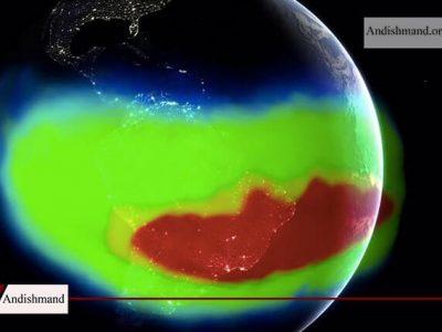 بررسی ناهنجاری عجیب در میدان مغناطیسی زمین