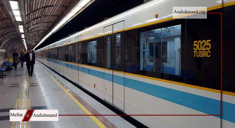 خروج قطار - خروج قطار خط 2 متروی تهران از ریل