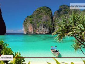 جزیره فی فی - یکی از زیباترین منطق طبیعی جهان