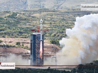 سقوط موشک - موشک چینی در یک دهکده سقوط کرد