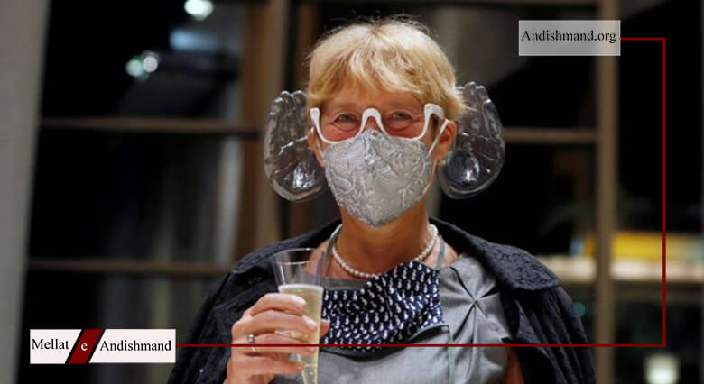 ماسک کنسرت - ساخت ماسک مجهز به هدفون برای کنسرت های موسقی