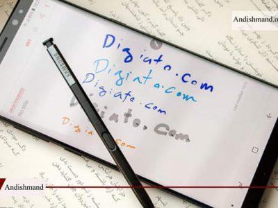 با دستخط خودتان روی دستگاه های اندرویدی تایپ کنید