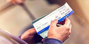بلیت هواپیما - از ابتدای آبان با نرخ دلار آزاد