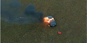 سوزاندن مرسدس - اعتراض به خدمات ضعیف پس از فروش با سوزاندن مرسدس بنز