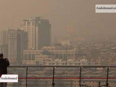 کیفیت هوا - هوای تهران در وضعیت ناسالم برای تمام افراد