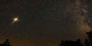 درخشش ستاره کریسمس در آسمان پس از 800 سال