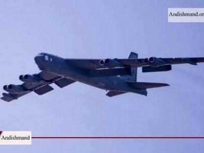 بمب افکن های استراتژیک - دومین پرواز بمب افکن های آمریکایی بر فراز خلیج فارس