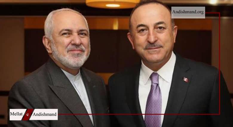 عدم اطلاع اردوغان - گفتگوی وزیران خارجه ایران و ترکیه درباره شعرخوانی اردوغان