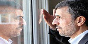 نامه احمدی نژاد به روحانی - جلوی جنگ را بگیرید