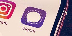 حذف سیگنال از فروشگاه های اپلیکیشن ایرانی