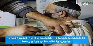 واکسیناسیون گسترده در اسرائیل - ۴۵ درصد افراد بالای ۶۰ سال در اسرائیل واکسینه شدند