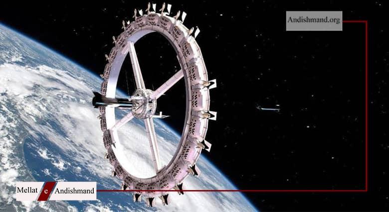 هتل فضایی - افتتاح اولین هتل فضایی تا سال 2026