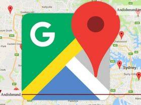 مسیریابی گوگل مپ - فعال شدن قابلیت مسیریابی با گوگل مپ