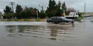 هشدار آبگرفتگی معابر - سامانه بارشی پنجشنبه وارد کشور میشود
